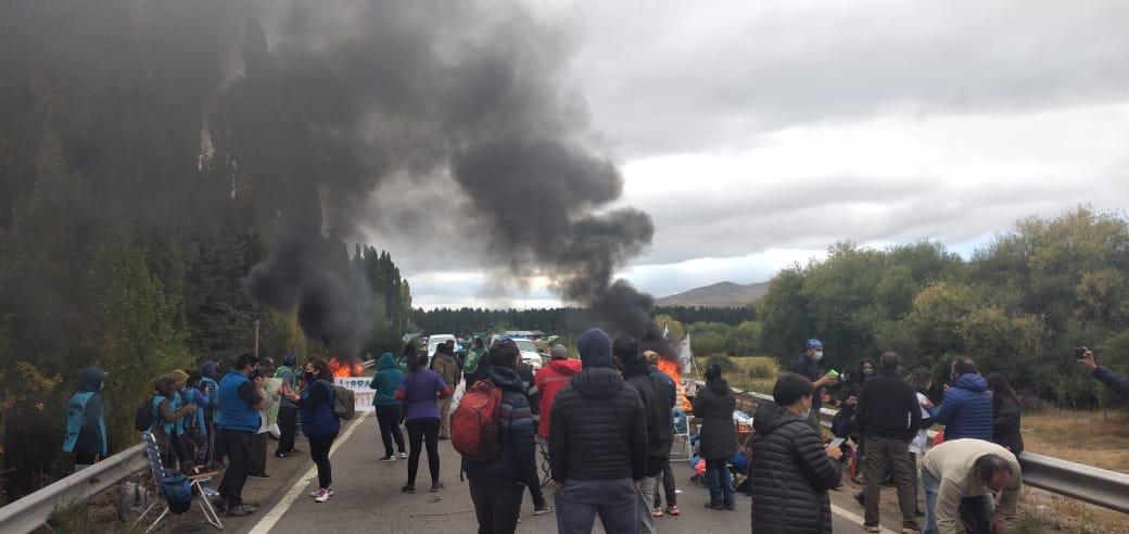 Una vecina de Junín de los Andes pidió intervención a la Fiscalía para que garantice la libre circulación por la Ruta 40