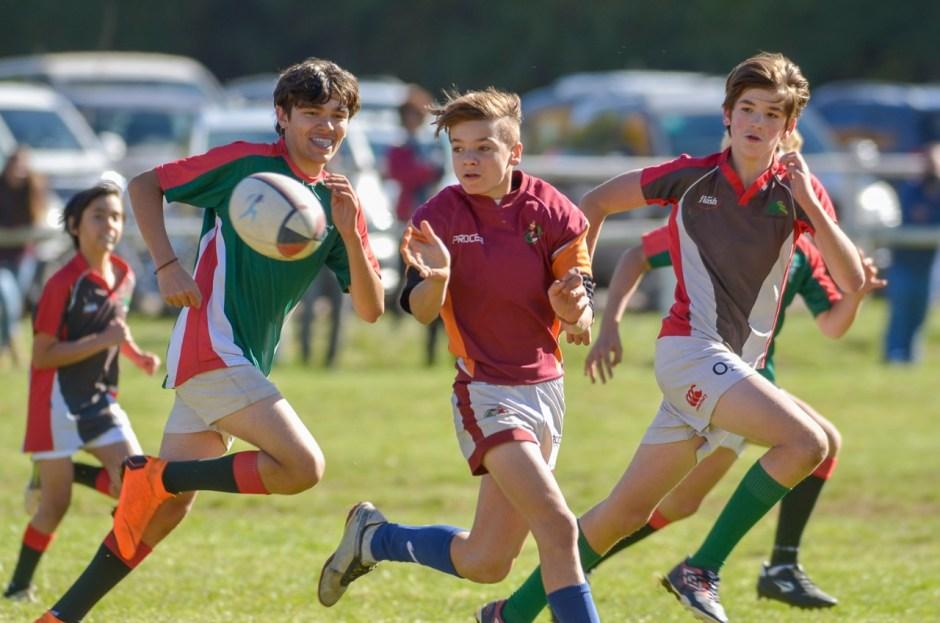 Llega un nuevo encuentro infantil de rugby de La Unión de los Lagos del Sur en San Martín de los Andes