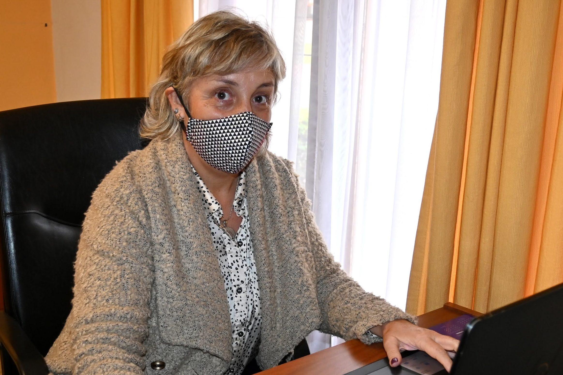 """Cecilia Alonso Perín: """"Estamos muy orgullosos con los resultados de la campaña de vacunación"""""""
