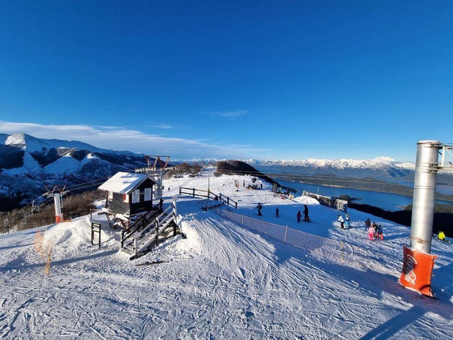 El Cerro Bayo, uno de los más beneficiados en este invierno atípico