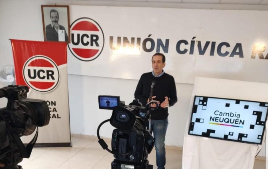 """Cervi lanzó la premisa de """"lograr una UCR neuquina grande y protagonista de la política provincial y nacional"""""""