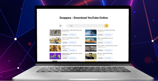 Snappea, el convertidor y descargador de audio