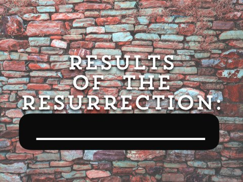 Results of the Resurrection