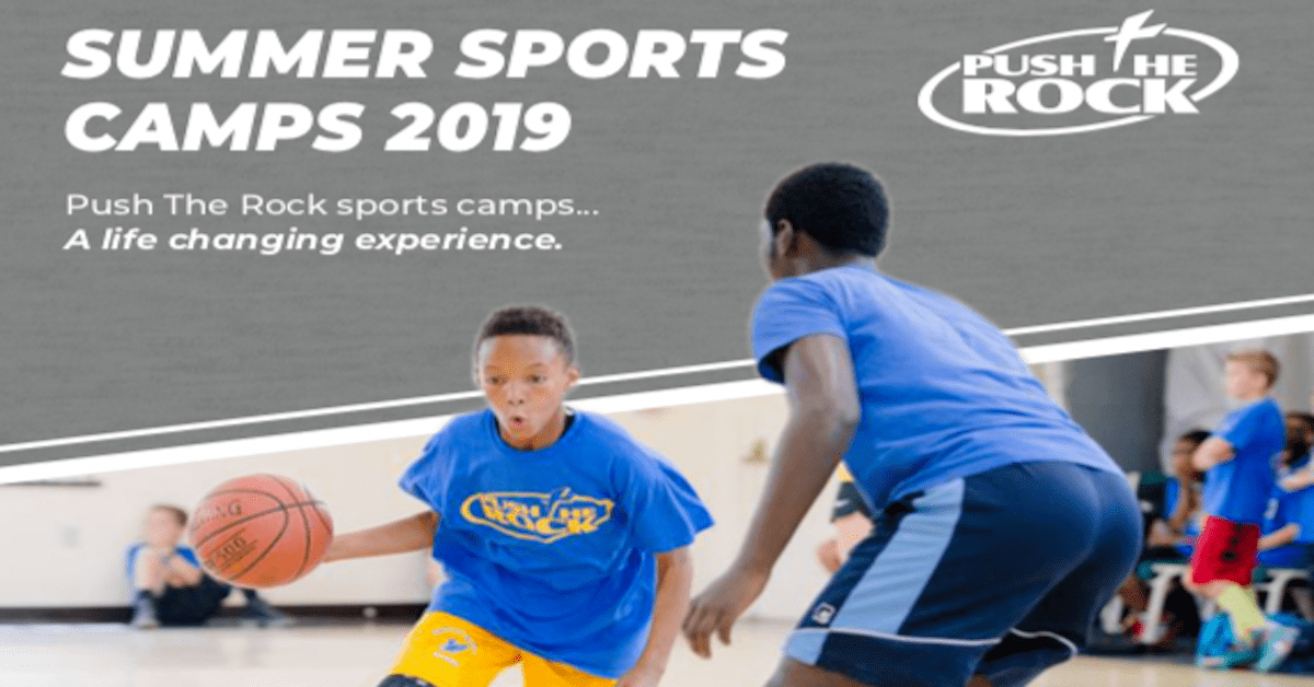 Push the Rock Sports Camp 2019