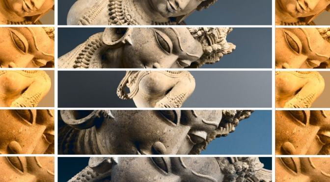 Celestial dancer, Devata. Sculpture. Central India, mid-11th century