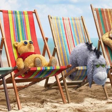 Teddy Bears on deck chairs