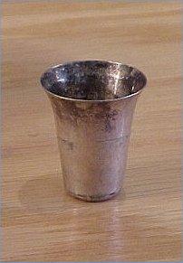 LDS Silver Sacrament cup - Schuab