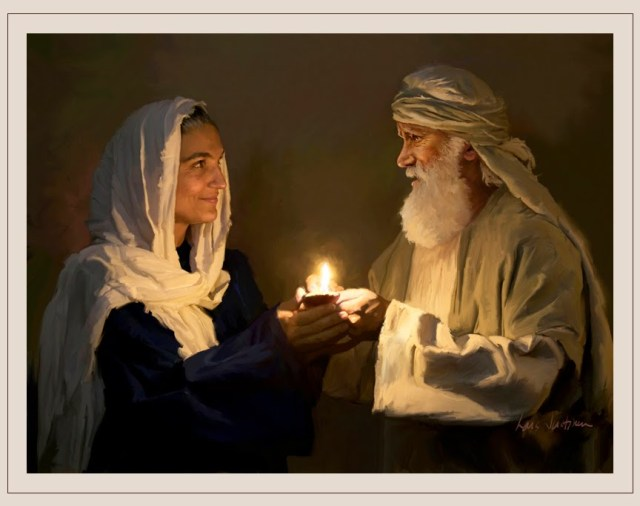 Abraham and Sarah KeepingTheFlameAlive