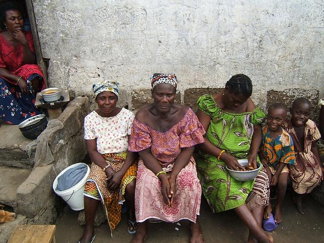 Matriarch in a Coastal Village