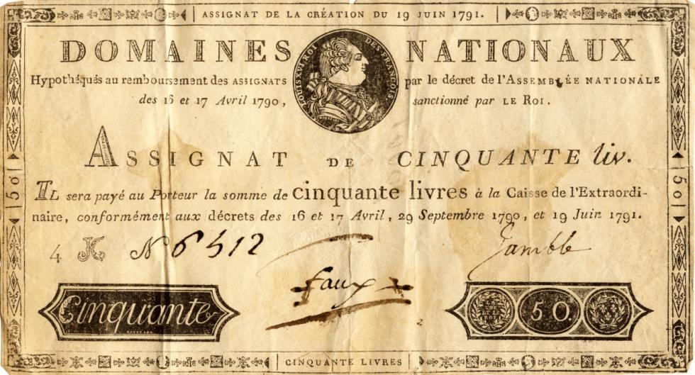 French, Plus ça change: A French Lesson in Monetary Debauchery