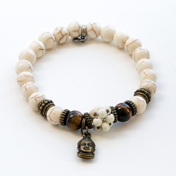 bracelet oeil de tigre et hwlite