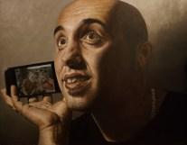 "Autor: Daniel Lavado Pérez. Titulo: ""Foto de familia"" 146x114 cm Óleo s/lienzo"