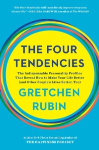 Cover of The Four Tendencies: The Indispensable Personality Profiles That Reveal How to Make Your Life Better (and Other People's Lives Better, Too)book