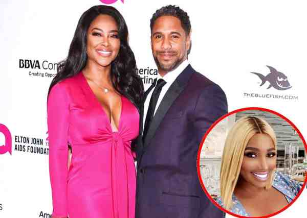 Kenya Moore On How She Feels About Husband Marc Defending Nene on RHOA, Gives Update Marriage