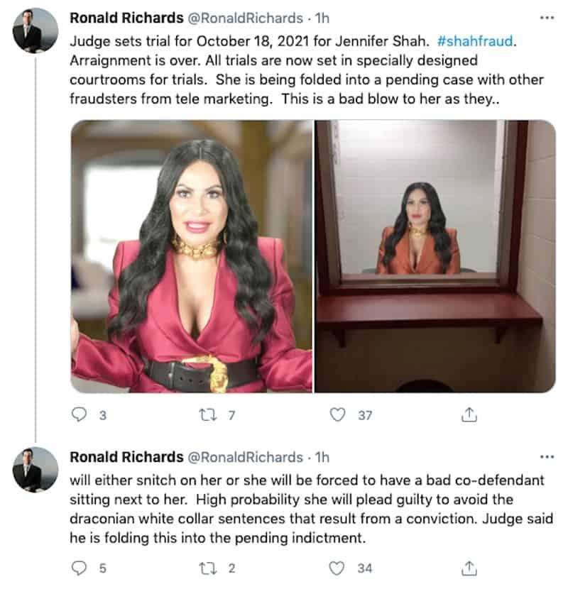 RHOSLC Jen Shah Trial Date Set for Fraud Case