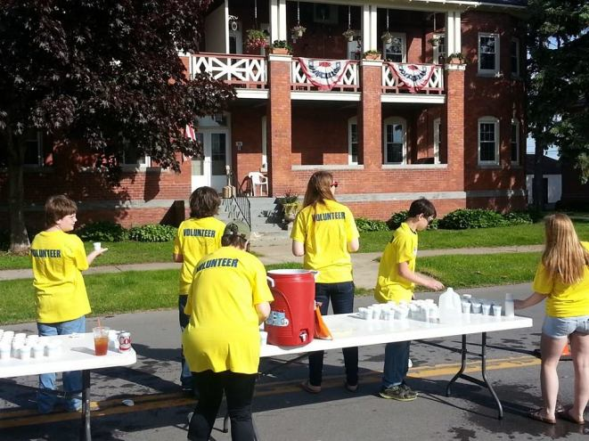 Plattsburgh Reality Check volunteering