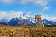 El Chalten Viewing Stairs in Patagonia by Clorindo Testa