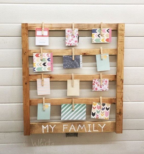 Simple Woodworking DIY Project - Photo Display Wall art! {Reality Daydream}