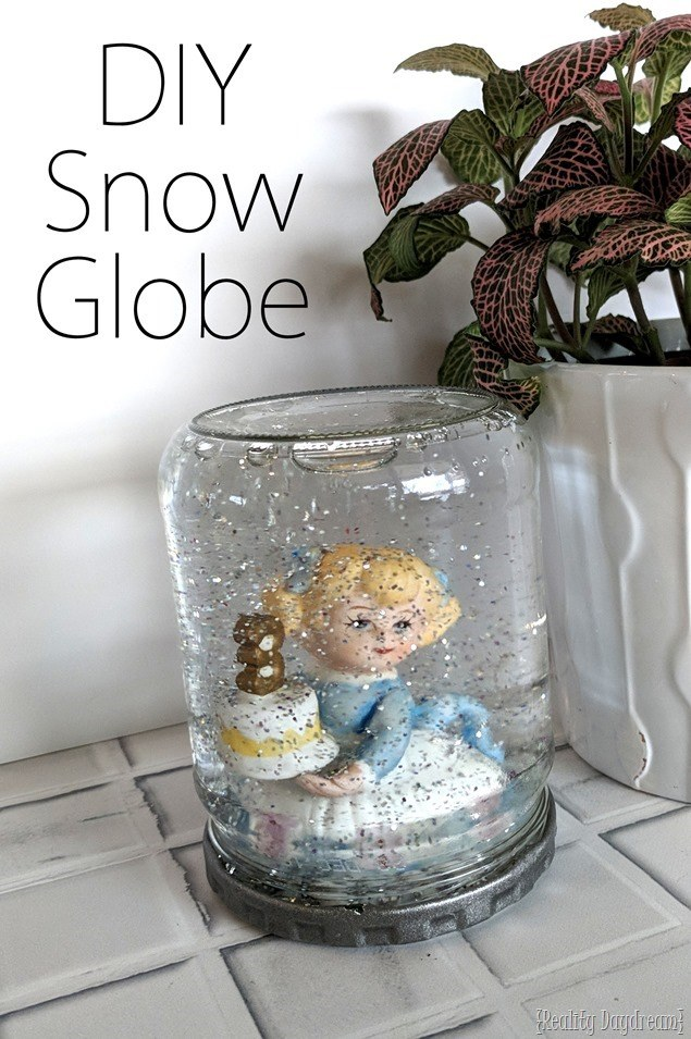 How To Make A Snow Globe Craft Reality Daydream