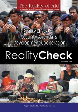 Reality Check on Security Agenda and Development Cooperation