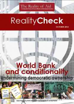 World Bank and conditionality undermining democratic ownership