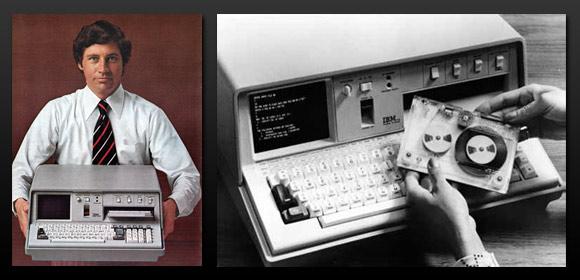 اول كمبيوتر متحرك فى التاريخ