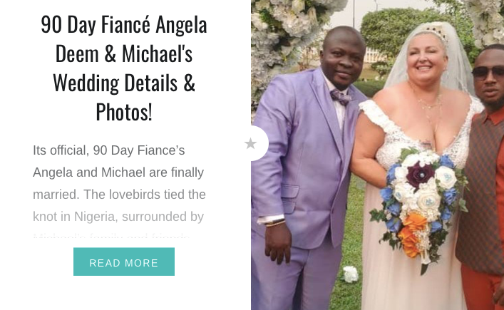 90 Day Fiancé Angela and Michaels Wedding