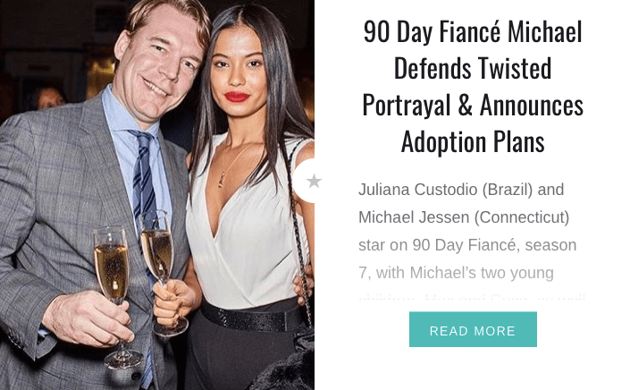 Michael and Juliana Announce Adoption Plans