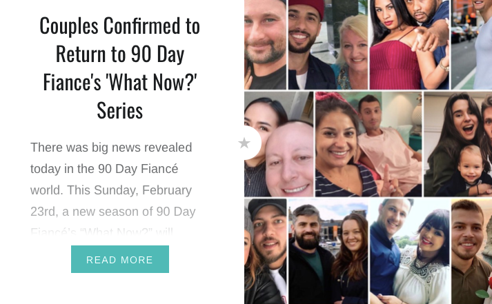 90 Day Fiancé 'What Now' New Season Couples Article