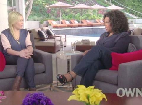Chelsea Handler on Oprah