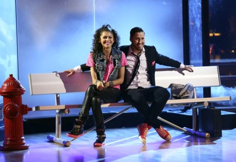 Dancing with the Stars 2013 Spoilers - Zendaya and Val