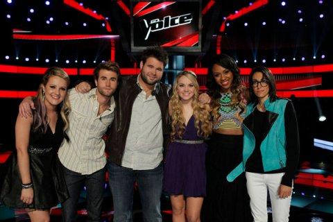 The Voice USA Season 4 Top 5 Performances Spoilers: Live