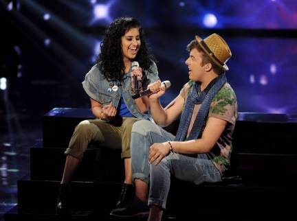American Idol 2014 Spoilers - Jena and Alex Duet