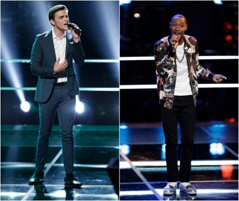 The Voice USA 2014 Spoilers - The Knockouts - Elyjuh Rene versus Ricky Manning 6