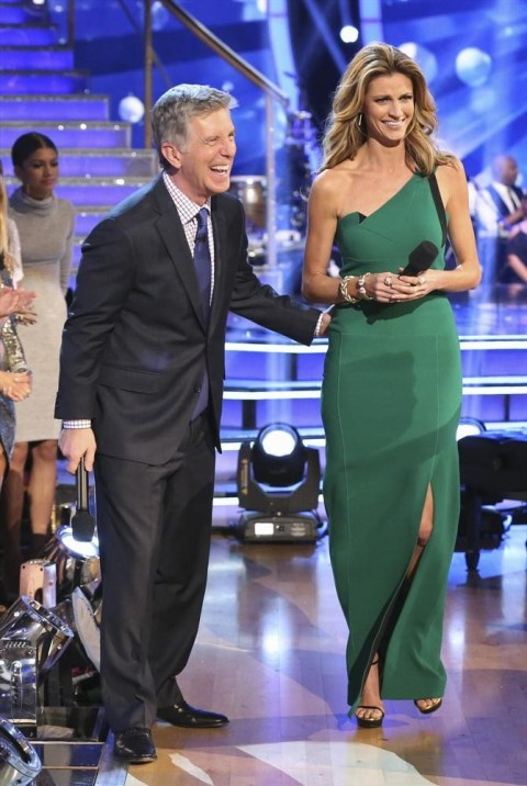 TOM BERGERON, ERIN ANDREWS