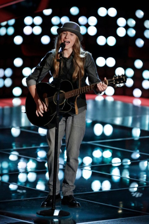 The Voice USA 2015 Spoilers - Sawyer Fredericks