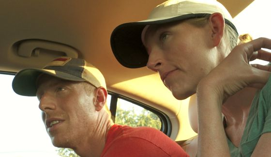 Stephen and English King on Hunted CBS