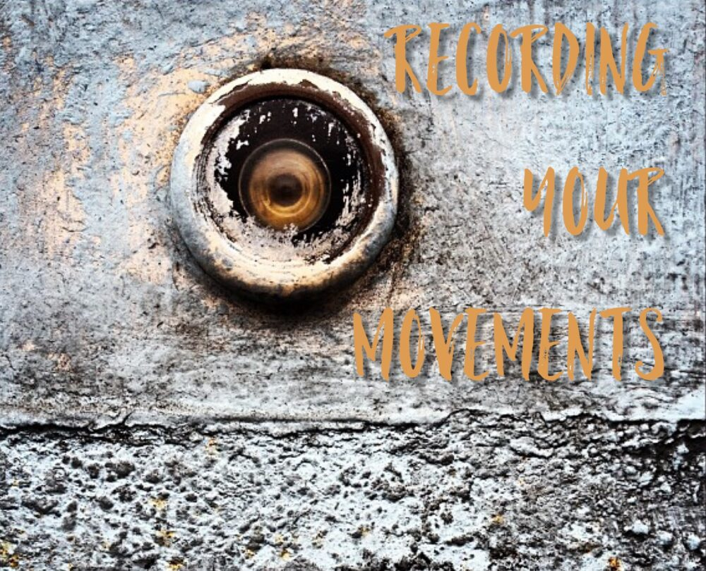 Recording Your Movements Peephole