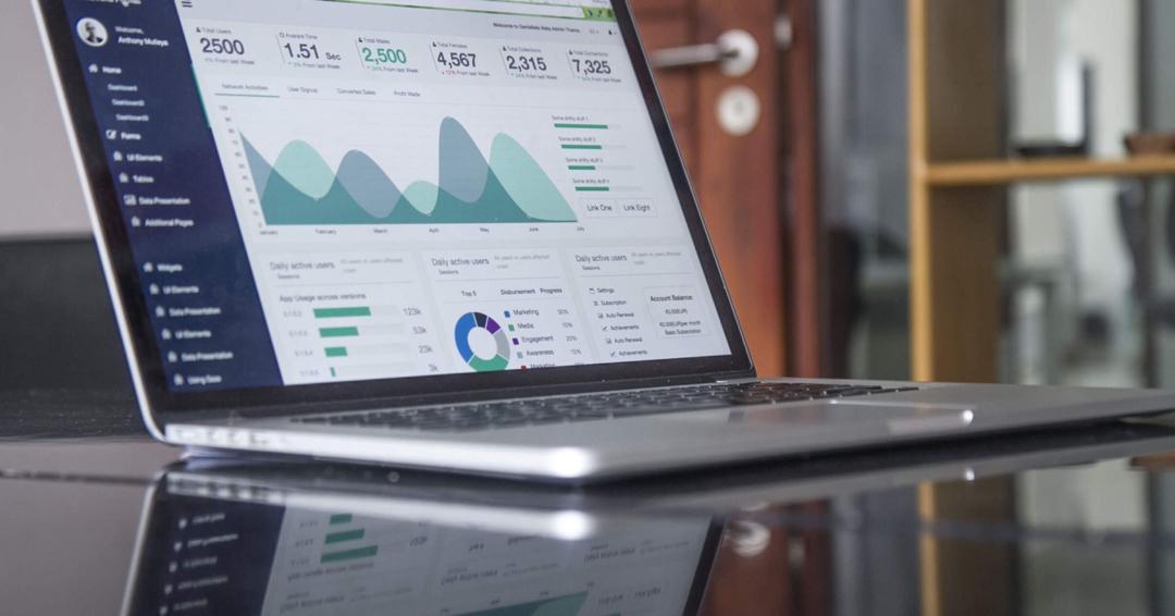 Analytics Laptop View