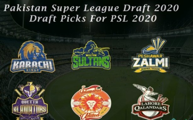 PSL 2021 Pakistan Super League Players Draft