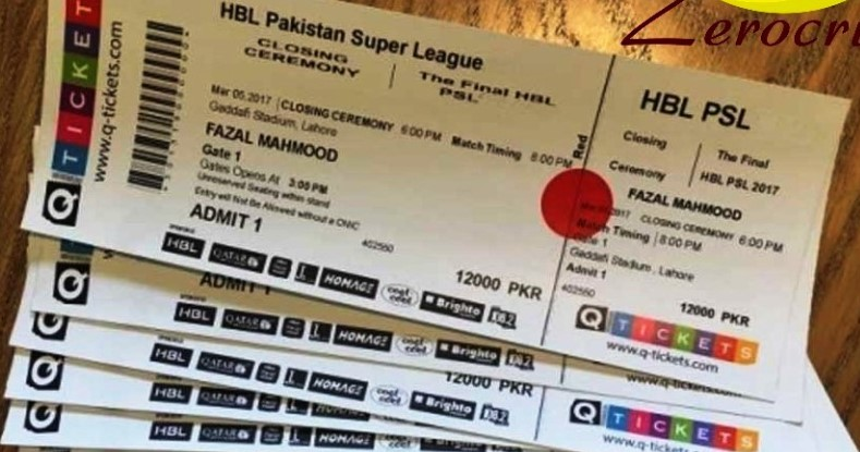 PSL 2020 Tickets Price PSL 5 Tickets Online