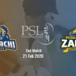 Peshawar Zalmi vs Karachi Kings 2nd T20 Prediction 21 Feb, 2020