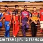 IPL 2020 Teams [IPL 13 Teams Squad]