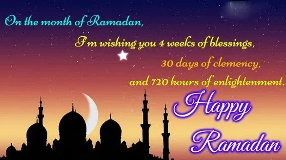 Happy Ramadan Messages Wishes 2020