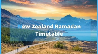 New Zealand Ramadan Timetable/Calendar 2020 (Fasting Timings)
