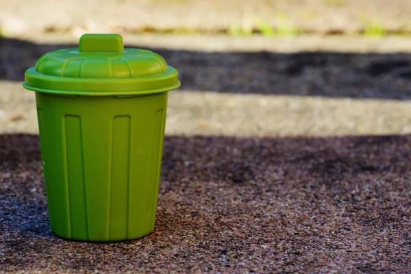 descarte correto do lixo