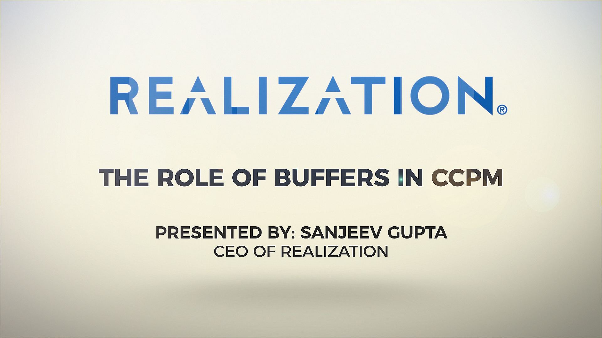 [Webinar] The Role of Buffers