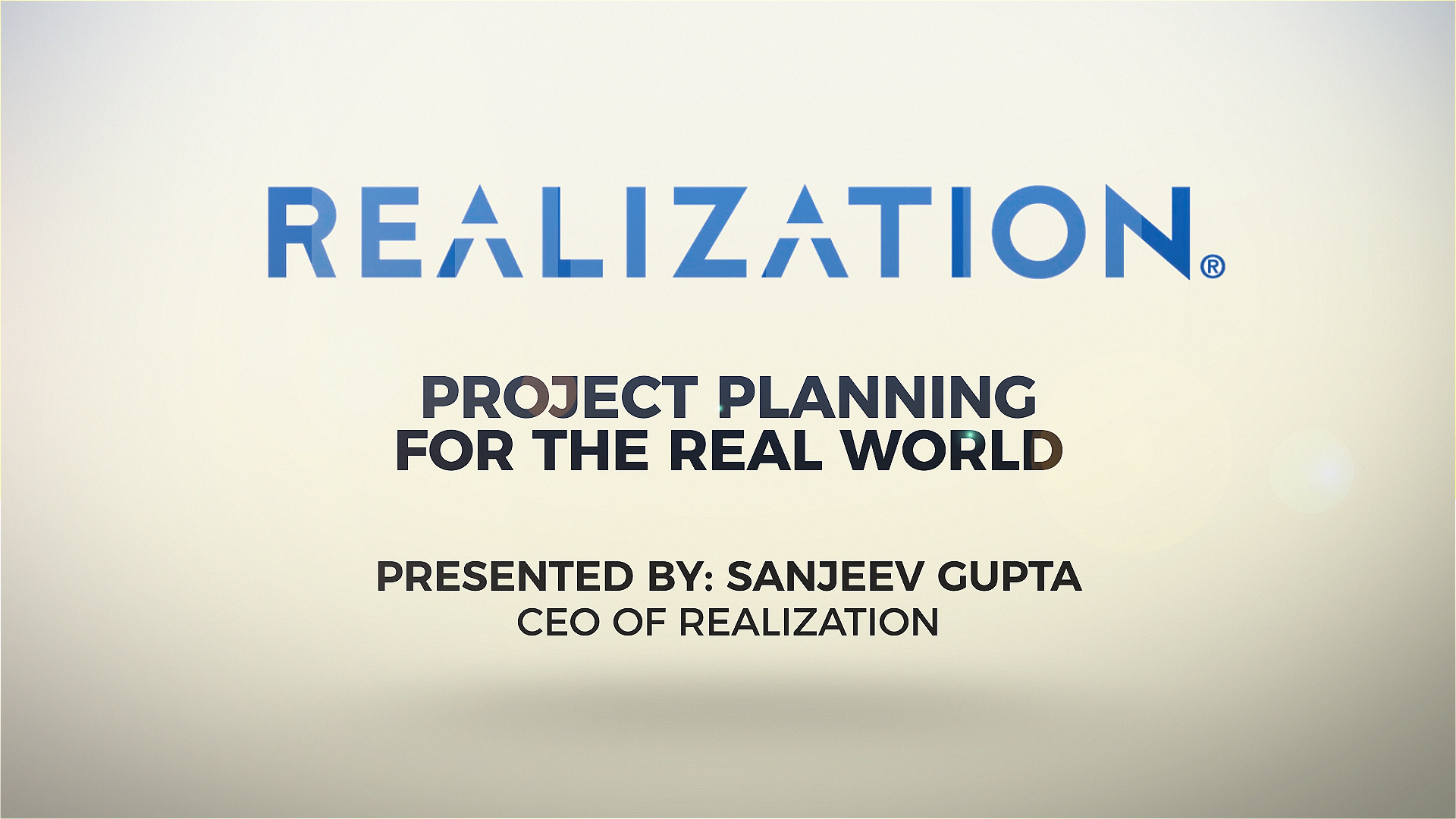 [Webinar] Project Planning for the Real World