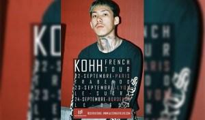 kohh french tour en concert à paris le 22 septembre 2017