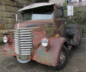 Zombie killing pickup truck